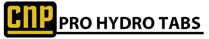 CNP Pro Hydro Tabs Header