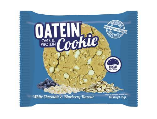 Oatein Cookie - White Chocolate & Blueberry