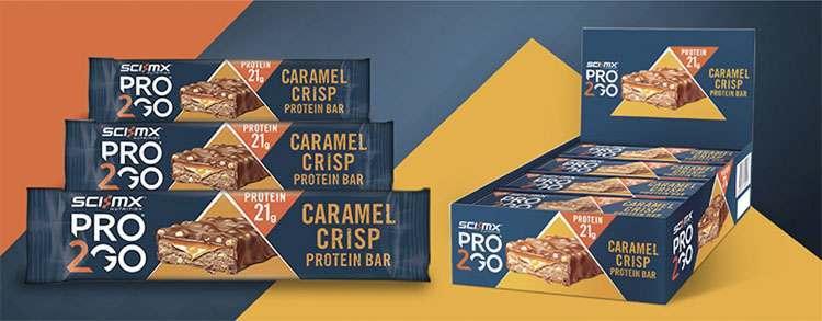 Sci MX Caramel Crisp Bars