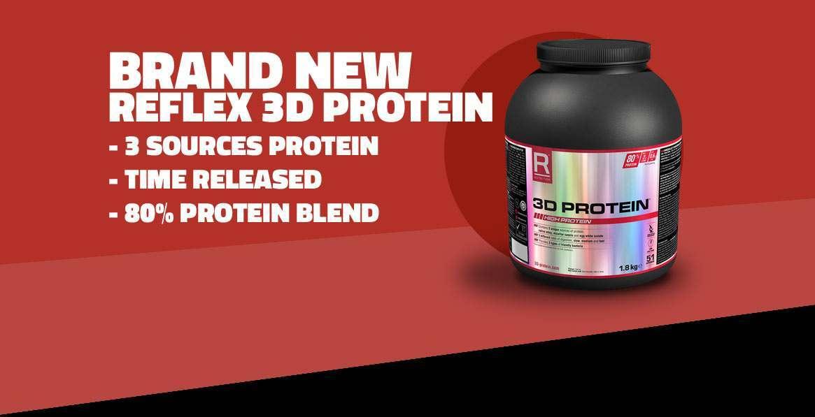 NEW Reflex 3D Protein