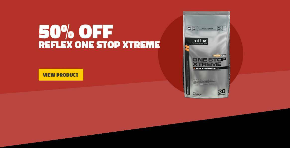 50 Percent Off Reflex One Stop Xtreme