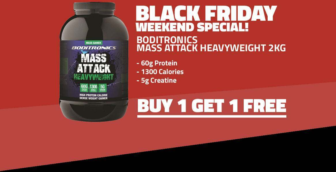 BUY 1 GET 1 FREE Mass Attack Heavyweight