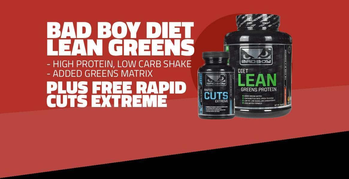 Bad Boy Diet Lean Greens