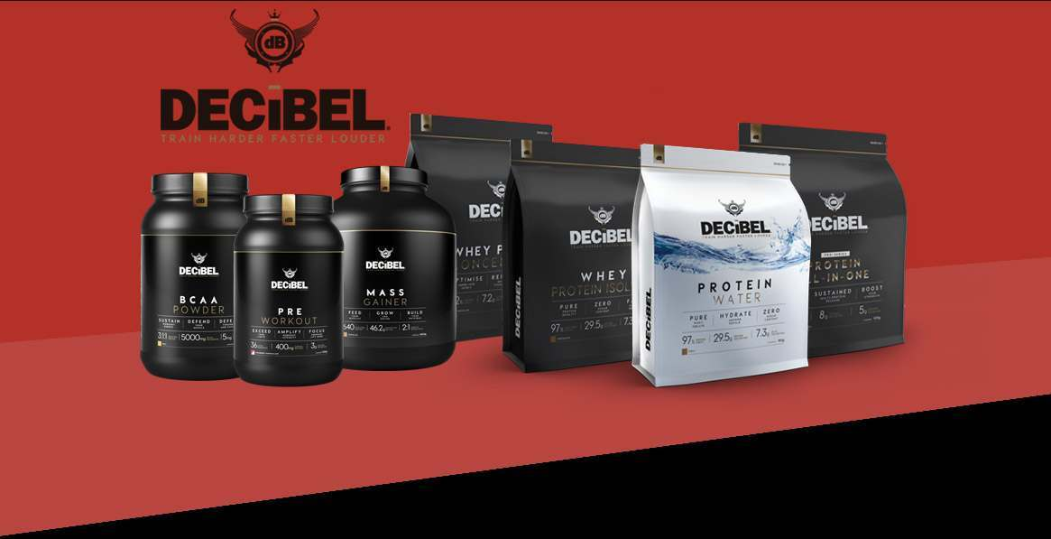 Decibel Nutrition Supplements