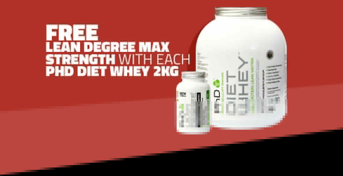 Free Lean Degree With PhD Diet Whey