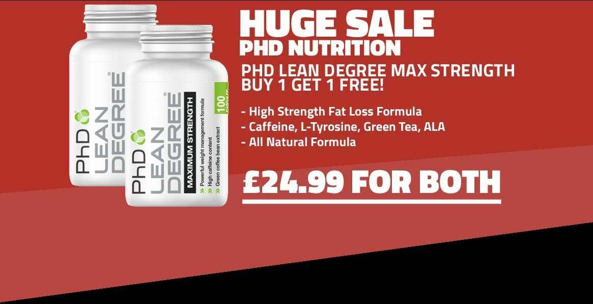PhD Lean Degree MAX Strength