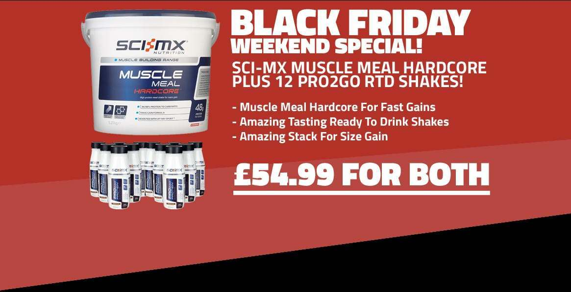 Sci-MX Muscle Meal Hardcore