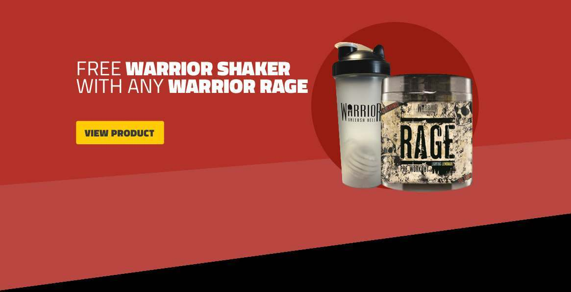Free Shaker With Warrior Rage