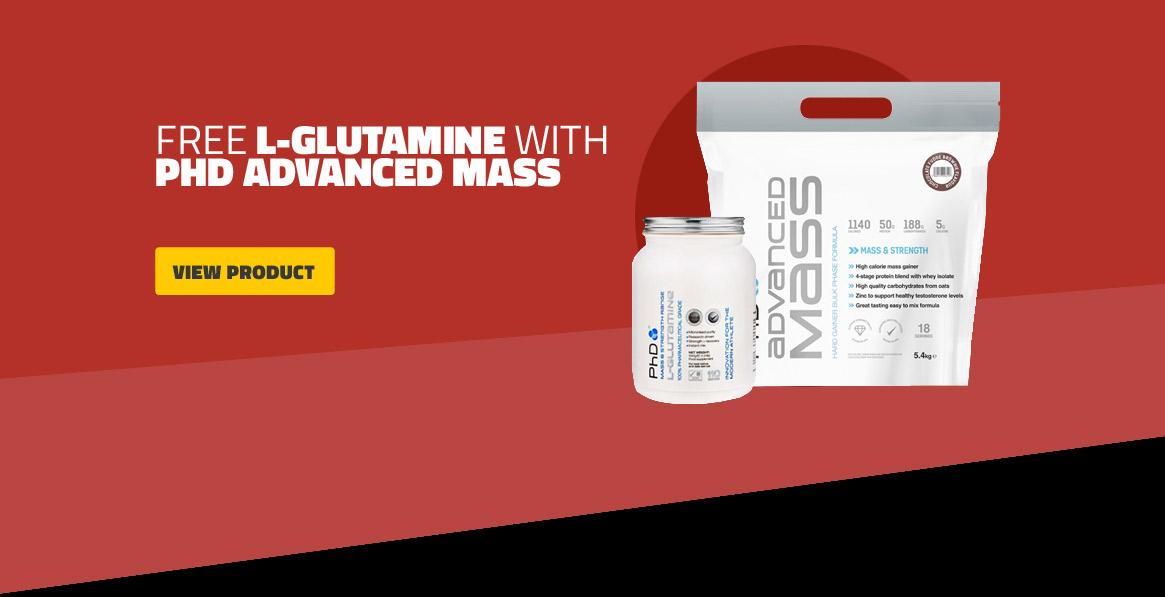 Free Glutamine with Advanced Mass