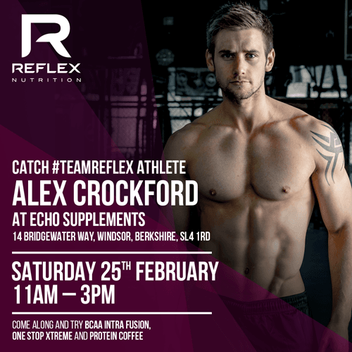 Reflex Nutrition Open Day Saturday 25th Feb