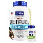 USN Diet Fuel Ultralean (2kg) + FREE USN CLA Green Tea (45)