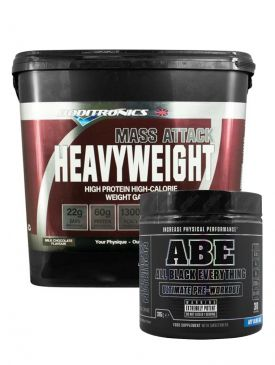 Boditroinic Heavyweight and ABE Pre workout
