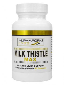 Alphaform Labs Milk Thistle Max (60 Capsules)