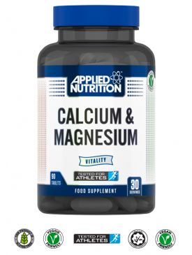 Applied Nutrition Calcium & Magnesium (90 V Tabs)