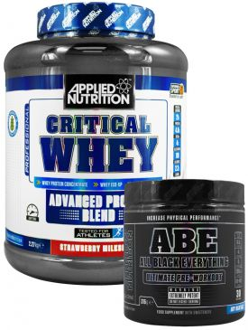 Applied Nutrition ABE Pre Workout / Critical Whey Stack