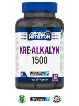 Applied Nutrition Kre-Alkalyn 1500 (120 Caps)