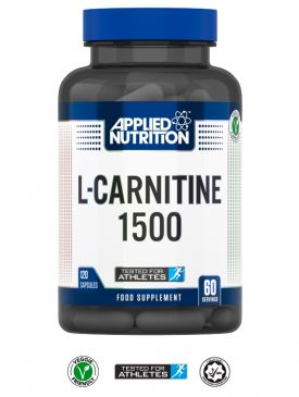 Applied Nutrition L-Carnitine 1500 ( 120 V Caps )