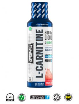 Applied Nutrition L-Carnitine Liquid 3000 & Green Tea (480ml)