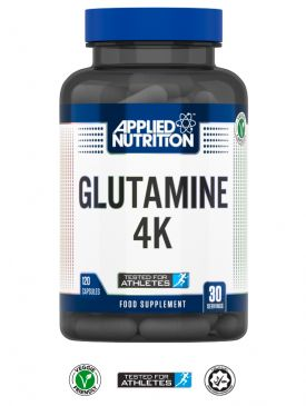 Applied Nutrition Glutamine 4K (120 Capsules)