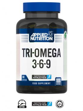Applied Nutrition Tri-Omega 3-6-9 (100 Veggie Softgels)