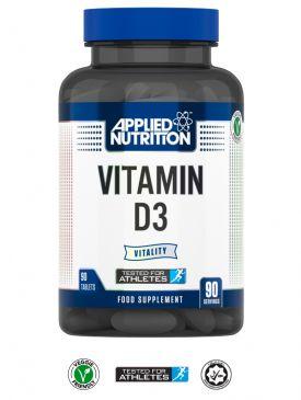Applied Nutrition Vitamin D3 (90 V Tabs)