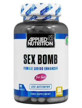 APPLIED NUTRITION SEX BOMB FOR HER (120 Capsules)