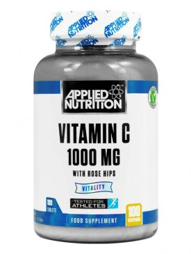 Applied Nutrition Vitamin C With Rose Hips (100 Tablets / 100 Servings)