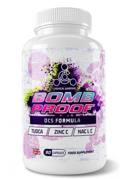 Chemical Warfare Bomb Proof Liver Support (90 Caps)