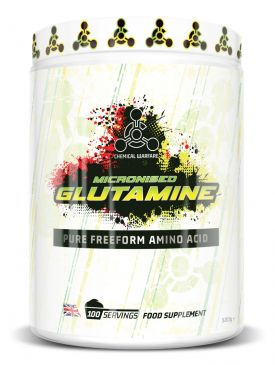 Chemical Warfare L Glutamine (500g)