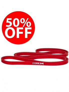 50% OFF - CoreX Resistance Band - Red
