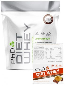 PhD Diet Whey 2kg + Diet Whey Bars