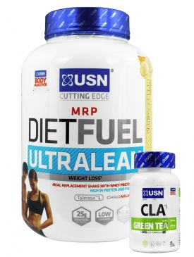 USN Diet Fuel Ultralean (2kg) + CLA Thermo (90)