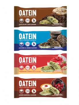 Oatein Protein Flapjack (40g) - 40 Flapjacks For £20