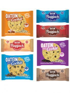 Oatein - 10 by 10 Taster Box - 10 Flapjacks & 10 Cookies