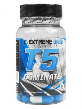 Extreme Labs T5 Dominate Fat Burner (60 Caps)