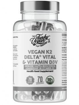 Funky Vegan Vegan K2 Delta Vital & Vitamin D3V