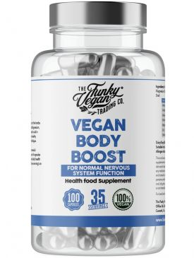 Funky Vegan Vegan Body Boost (100 Caps)