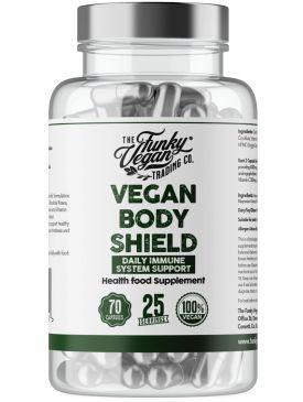 Funky Vegan Vegan Body Sheld (70 Caps)