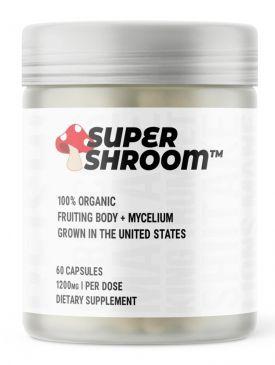 Glaxon Supershroom (60 Caps)