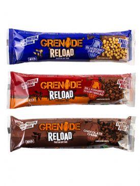Grenade Reload Protein Oat Bar (12 Pack - 24 Bars)