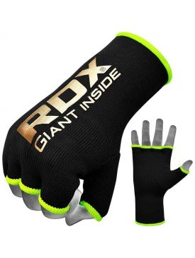 RDX Inner Hand Gloves  - Black/Gold