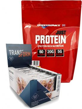 Boditroincs Just Protein 2kg and Sci Mx Cookies