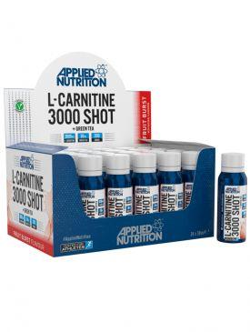Applied Nutrition L-Carnitine 3000 Shots + Green Tea (12x38ml)