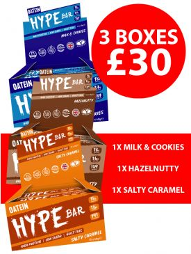 Oatein Whoops! Hype Bars - 3 Boxes For £30