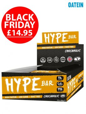 BLACK FRIDAY - Oatein Hype Bar (12x60g)