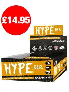 WINTER SALE - Oatein Hype Bar (12x60g)