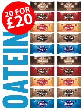 Low Sugar Flapjack Taster Box - 20 Flapjacks For £20