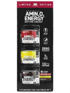 Optimum Nutrition Amino Energy 3x90g Variety Pack