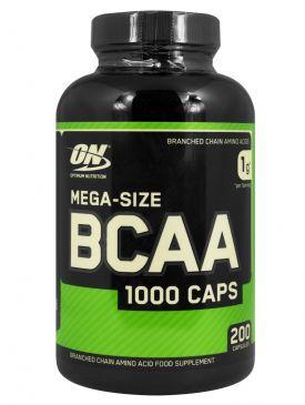 Optimum Nutrition BCAA 1000 (200 Caps)