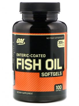 Optimum Fish Oil (100 Softgels)